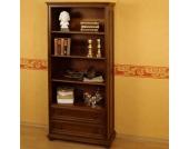 Bücherregal mit zwei Schubladen