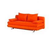 Schlafsofa Dorothy - Stoff Orange, Studio Monroe
