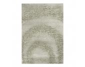 Teppich Hochflor Design - Beige - 60 x 115 cm, Home24 Deko