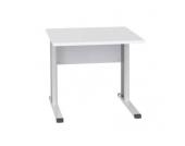 Schreibtisch Housten mit C-Füßen im Farbmix