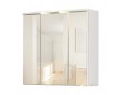 3D-Spiegelschrank a-qua - Weiß, Giessbach