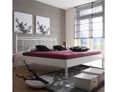 Doppelbett in Überlänge Metall