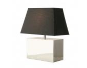 EEK A++, Tischlampe Bauhaus - Schwarz/Chrom, Kare Design