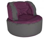 Sitting Point by MAGMA Bebop Scuba, 210 Liter outdoor Sitzsack aubergine