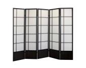 Raumteiler aus Buche Massivholz 200 cm breit