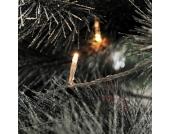 EEK A+, Micro LED Lichterkette - 120 Weiße Dioden - Außen - transparentes Kabel, Konstsmide