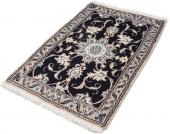 Parwis Orient-Teppich »Nain Khorasan5«, blau, 60x90 cm