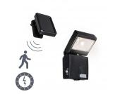Außenleuchte Dark Strahler LED mit solar Bewegungsmelder