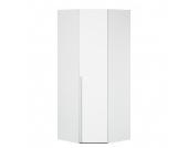 Eckschrank Melva - Polarweiß - BxH: 92,3 x 216 cm, Express Möbel