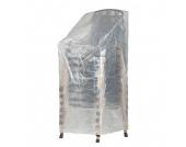 Schutzhülle Klassik für Stapelstühle (Größe XL) - Kunststoff, mehr Garten