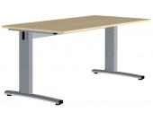 Computertisch in Ahornfarben 160 cm breit