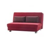 Klappcouch in Rot Modern