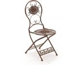 nostalgischer Klappstuhl MANI aus Eisen (aus bis zu 6 Farben wählen)
