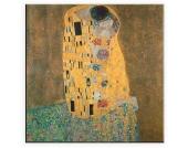 Leinwandbild, Home affaire, »Klimt, Der Kuss«, in 2 Größen