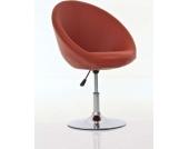 höhenverstellbarer Lounge-Sessel NEW TOKIO, Sitzhöhe: 46-58 cm, hoher Sitzkomfort, dicke Polsterung, drehbar