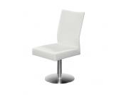 Drehstuhl für Esstisch Weiß