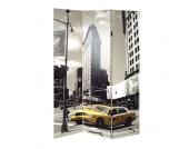 Raumteiler mit New York Motiv 120 cm breit