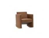 Sessel in Braun Schaukelfunktion
