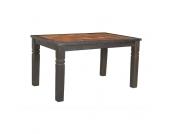 Holztisch aus Altholz mit Antik Finish
