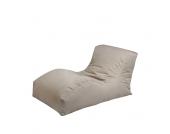Lounge Sessel als Sitzsack Grau