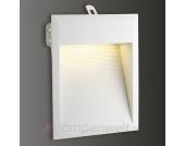 Weiße Einbauleuchte Downunder LED 27 für außen, ww