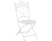 nostalgischer Eisen-Klappstuhl INDRA (aus bis zu 6 Farben wählen)