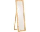Nostalgischer Standspiegel FELICIA 150 x 45 cm mit wunderschönen Verzierungen, Shabby Chic, aus bis zu 5 Farben wählen