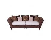 XL Sofa in Braun Beige (11-teilig)