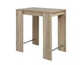 Bartisch Jersey - Eiche Sonoma Dekor, Home Design