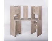 G + K Möbelvertriebs Eckschreibtisch Dornhagen, Sonoma Eiche