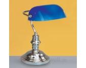 Klassische Tischleuchte Onella blau
