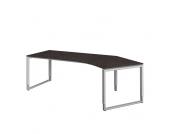 Schreibtisch in Braun höhenverstellbar