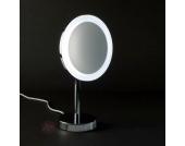 Beleuchteter LED-Standkosmetikspiegel GLITZ