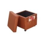 moebel direkt online Sitzwürfel _ Sitzhocker _ Stauraumhocker _ Mit Rollen und Einstecktasche