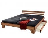 Schlafwelt Futonbett, braun, 90/200 cm, nur Bettgestell