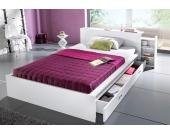 Schlafwelt Futonbett, weiß, 160/200 cm