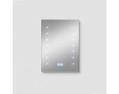 Wandspiegel mit Radio Uhr