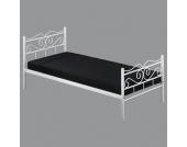 Gästebett aus Metall Weiß