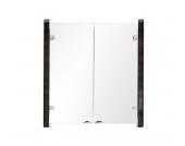 Quentis Spiegelschrank 60 - silbergrau Hochglanz
