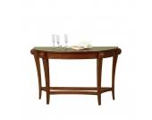 Tisch Lot - braun gebeizt und lackiert, Königstein