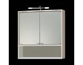 EEK A+, Spiegelschrank Cuneo (mit Beleuchtung) - Weiß, Giessbach